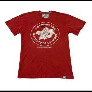 Nike Oklahoma Sooners Football Orange Bowl Shirt